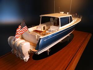 seacraftclassics-boat-model- mjm detail deck